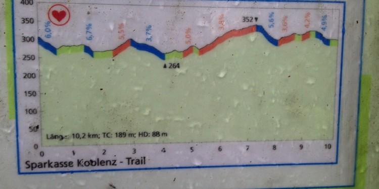 Trail running Stadtwald Koblenz Remstecken - 9
