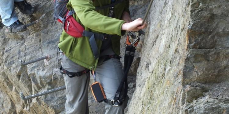Klettersteig Kurs Mittelrhein - 04