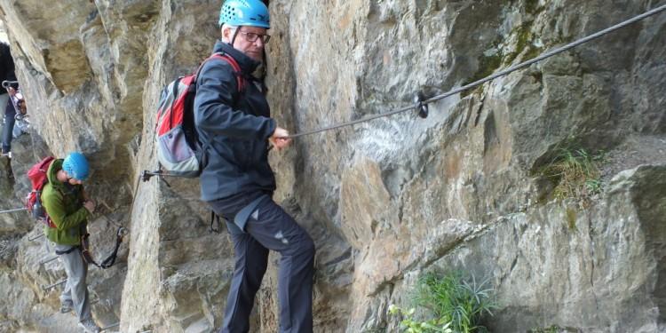 Klettersteig Kurs Mittelrhein - 05