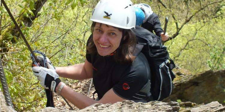 Klettersteig Kurs Mittelrhein - 09