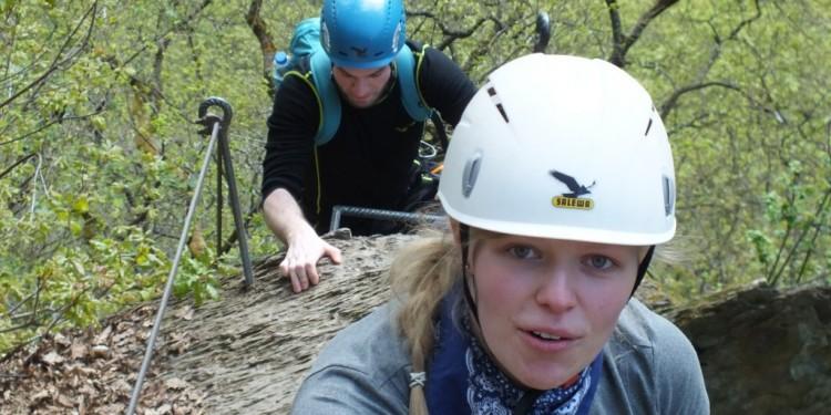 Klettersteig Kurs Mittelrhein - 11