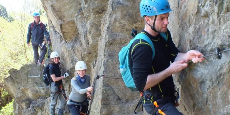 Klettersteig Kurs Mittelrhein - 15