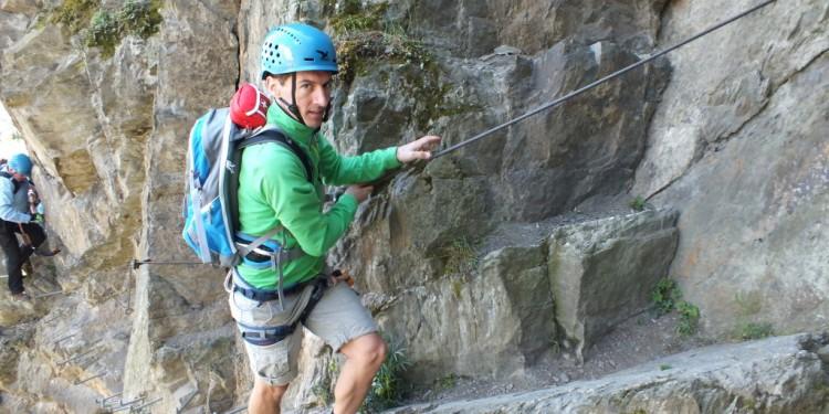 Klettersteig Kurs Mittelrhein - 18