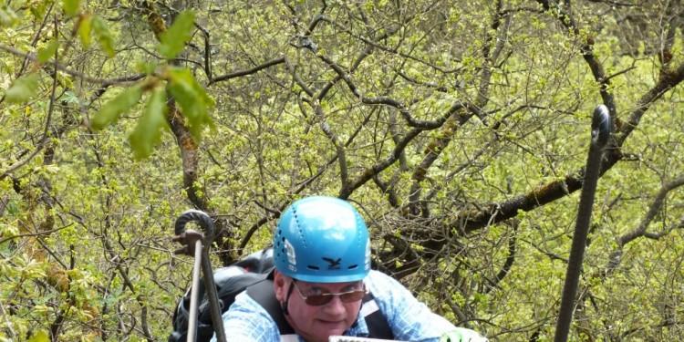 Klettersteig Kurs Mittelrhein - 25