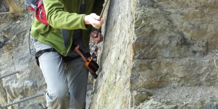 Klettersteig Kurs Mittelrhein - 26