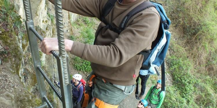 Klettersteig Kurs Mittelrhein - 32