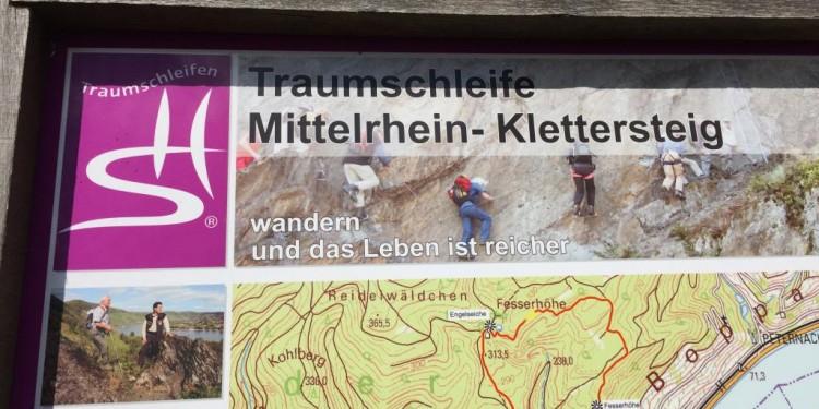 Mittelrhein Klettersteig Boppard Rhein Kletter Kurs - 40