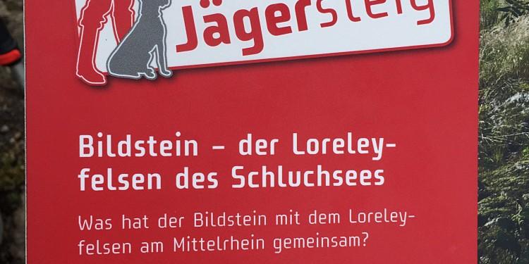 Bildstein Jaegersteig Schluchsee Schluchtensteig Schwarzwald - 18