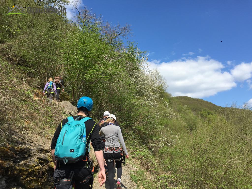 Klettersteig Rhein Boppard : Mittelrhein klettersteig boppard rhein kletter kurs