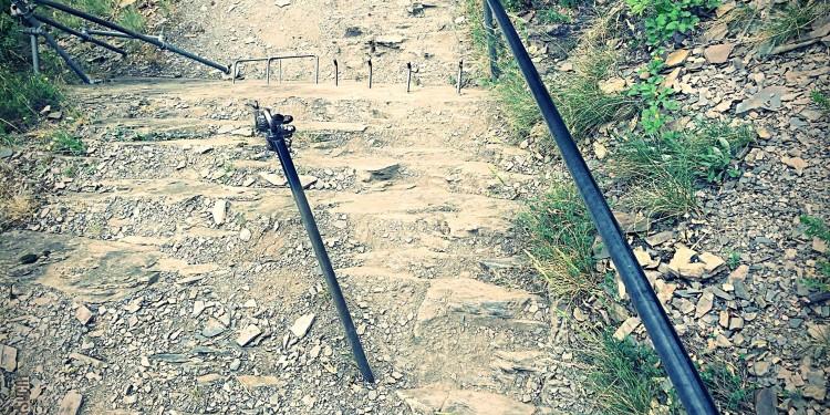 Calmont Klettersteig Moselsteig