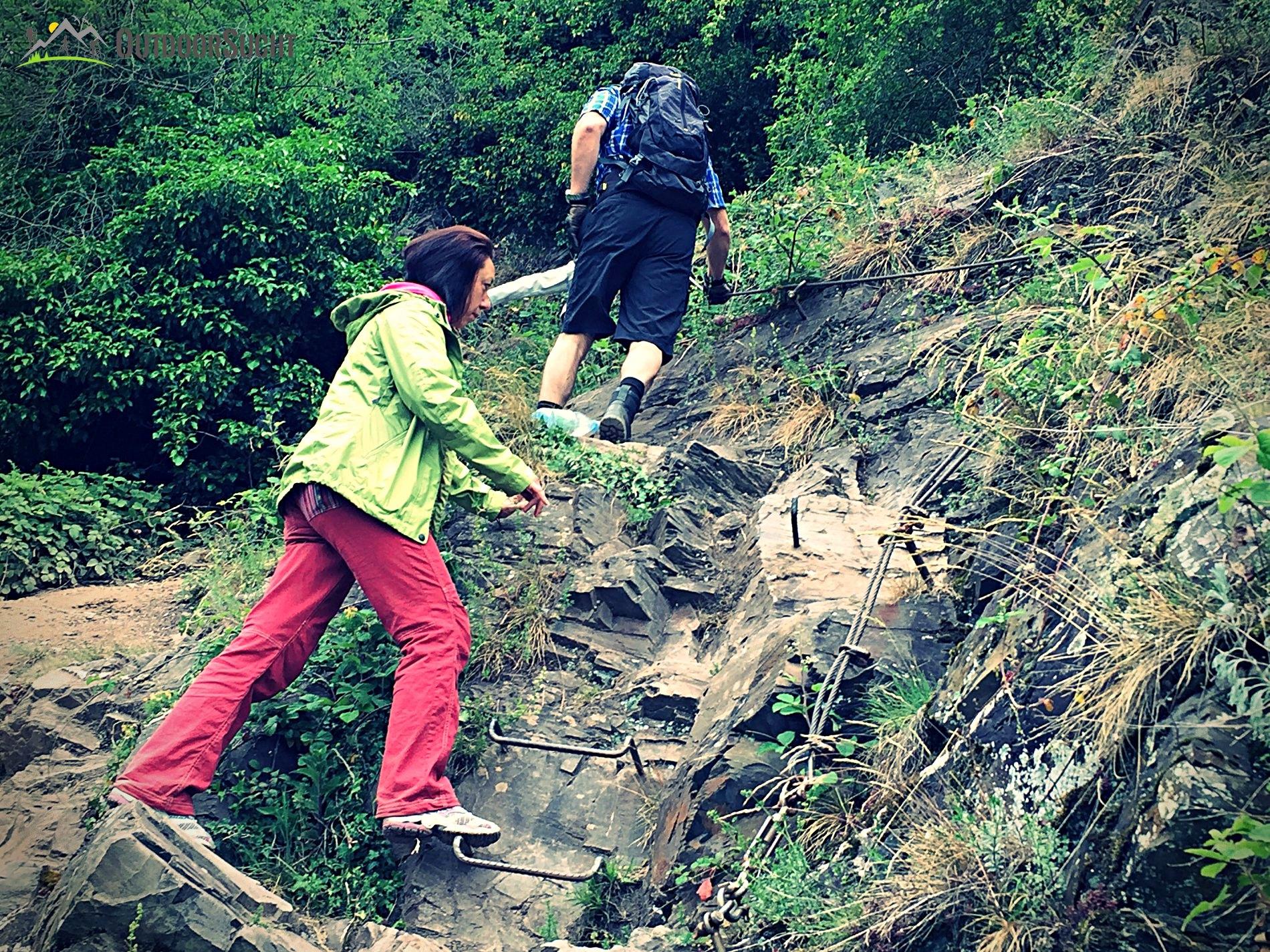 Klettersteig Calmont : Calmont klettersteig moselsteig outdoorsucht
