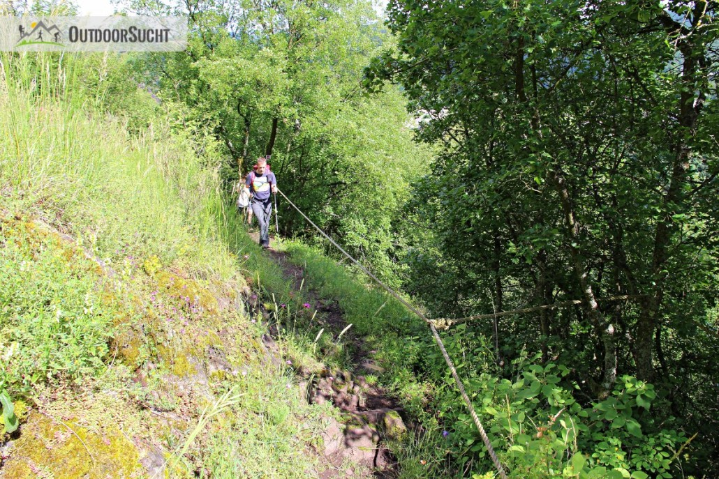 Traumschleife Nahe Felsen Weg Idar Oberstein - 06