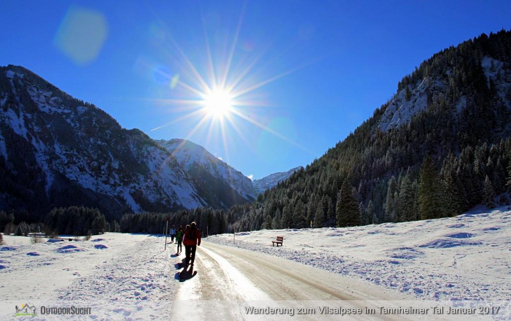 Vilsalpsee Tannheimer Tal Winterwanderung - IMG_6302