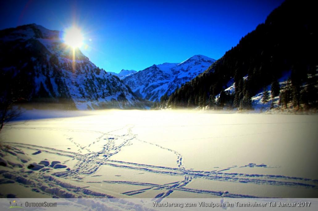 Vilsalpsee Tannheimer Tal Winterwanderung - IMG_6319